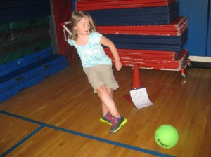 teach compare and contrast in physical education