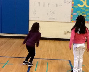 Integrate Reading in physical education