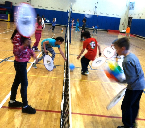Students learn to work at their own level to be successful and enjoy movement