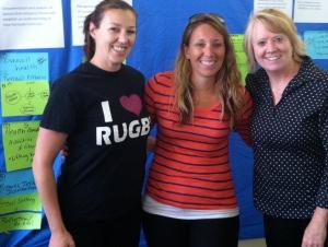 Jennifer Smith, Aprille Vasu Adams and Lynn Burrows